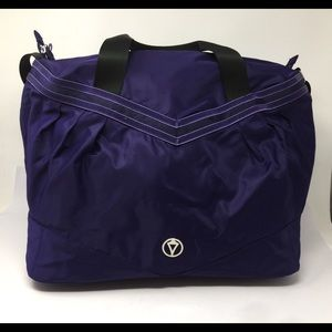 Ivivva by Lululemon Purple Duffel Sports Gym Bag